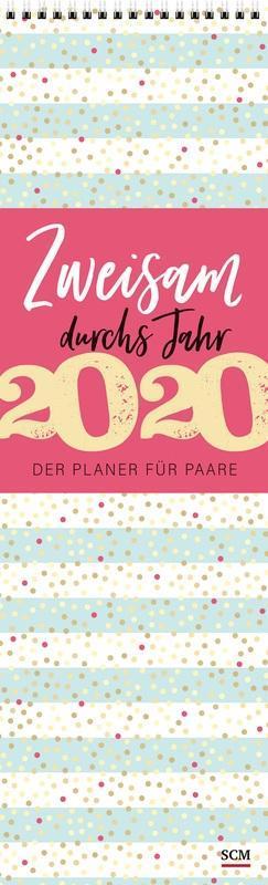 Zweisam durchs Jahr 2020 Streifenkalender als Kalender