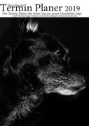 Termin Planer 2019 mit Hundefotos für jeden Tag