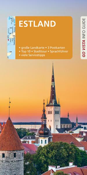 GO VISTA: Reiseführer Estland als Buch