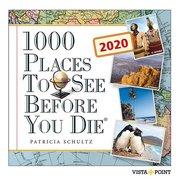 1000 Places to see before you die 2020 Tageskalender - In 365 Tagen um die Welt