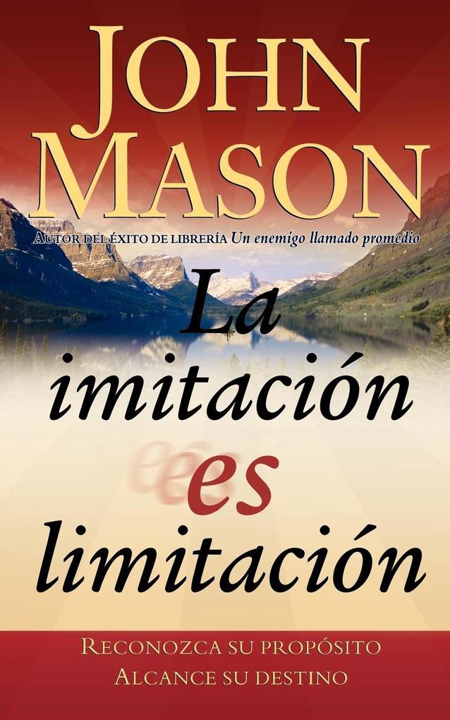 La Imitacion Es Limitacion als Taschenbuch