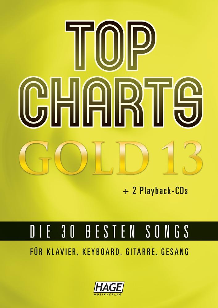 Top Charts Gold 13 (mit 2 CDs) als Buch (kartoniert)