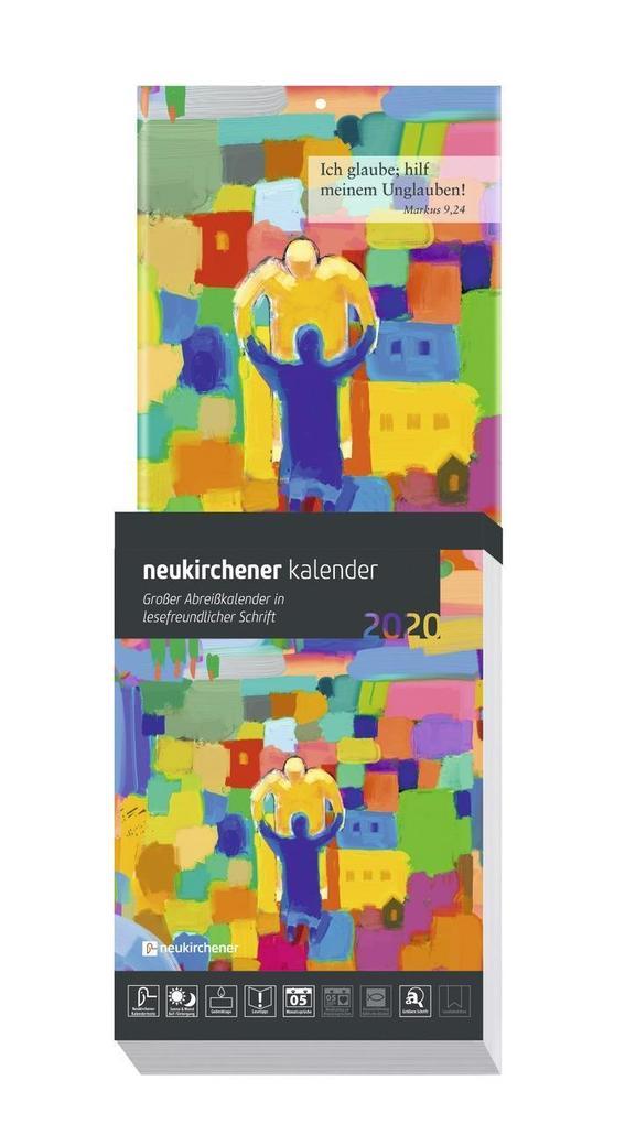 Neukirchener Kalender 2020 Großdruck-Abreißkalender als Kalender