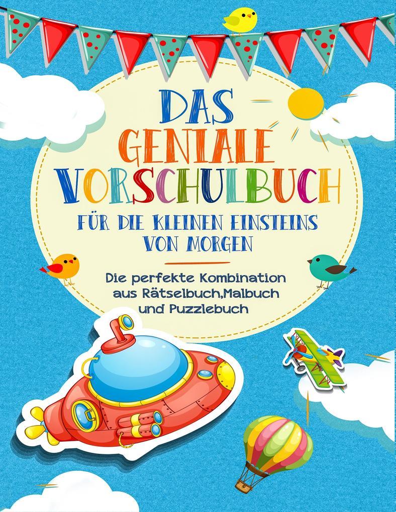 Image of Vorschulbuch für die kleinen Einsteins von Morgen - Kinderbuch für Vorschule und Kindergarten