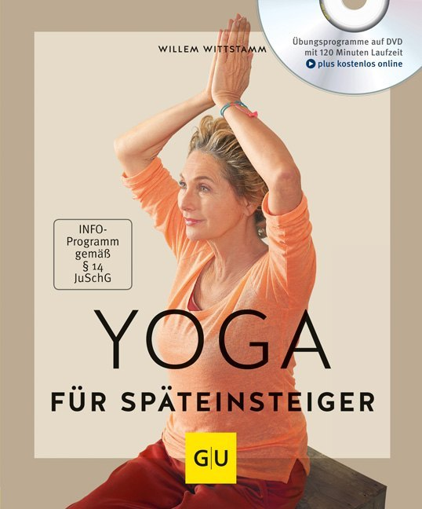 Yoga für Späteinsteiger (mit DVD) als Buch