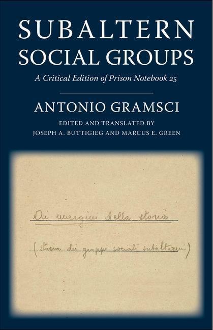 Subaltern Social Groups als Taschenbuch