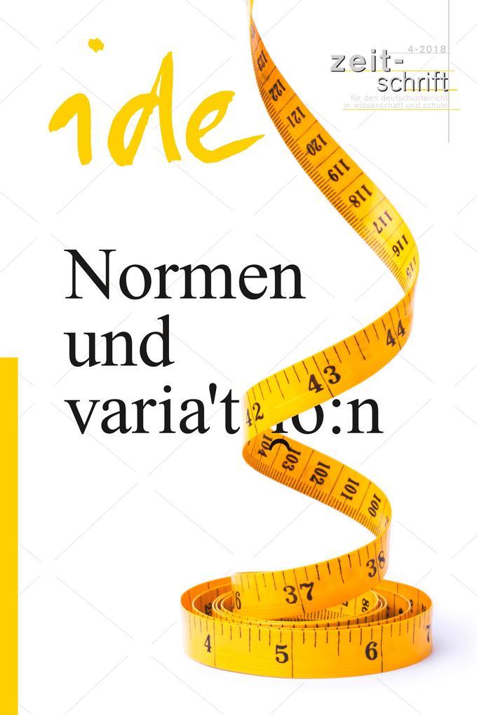 Normen und Variation als eBook epub
