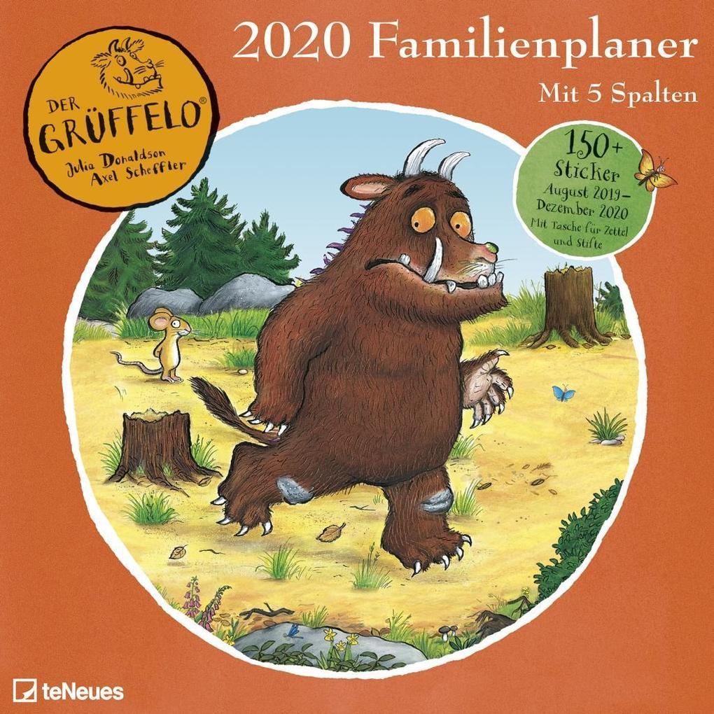 Der Grüffelo Familienplaner 2020 als Kalender