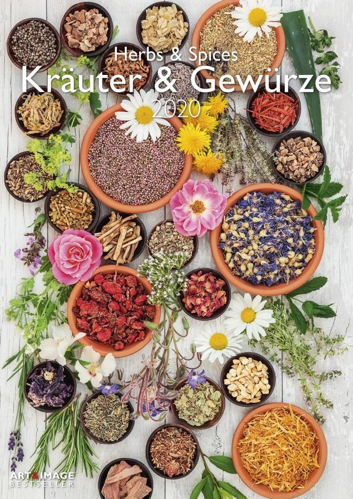 Kräuter & Gewürze 2020 Wandkalender als Kalender