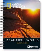 National Geographic Beautiful World 2020 Diary