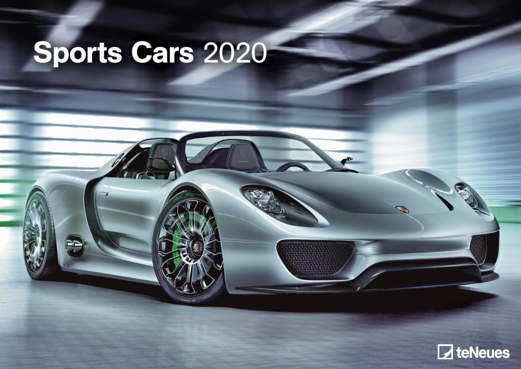 Sports Cars 2020 als Kalender