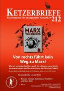 Von rechts führt kein Weg zu Marx!