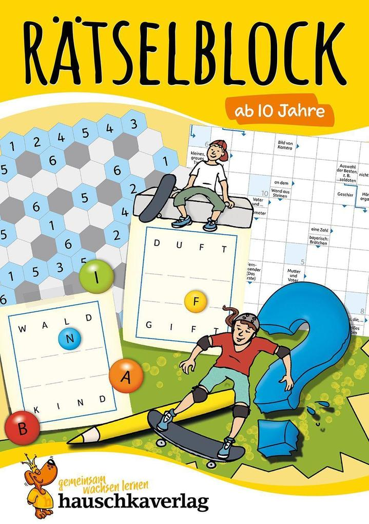 Rätselblock ab 10 Jahre, Band 1 als Buch