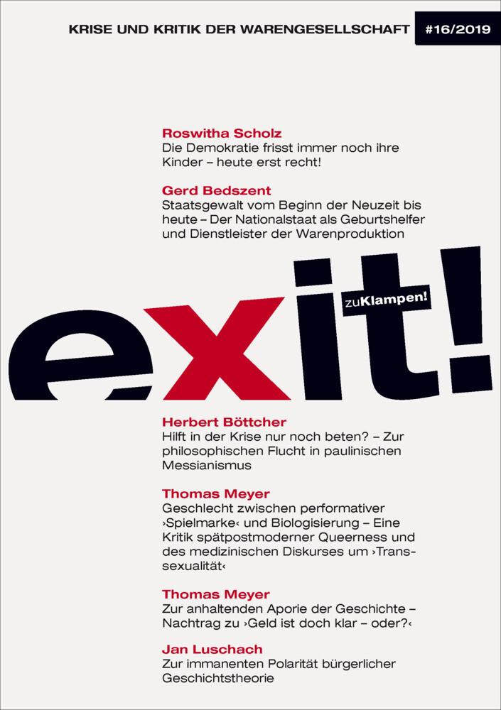 exit! Krise und Kritik der Warengesellschaft als Buch