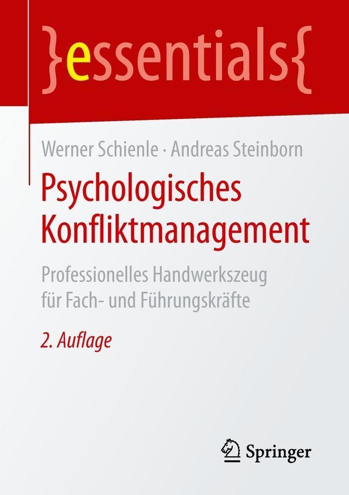 Psychologisches Konfliktmanagement als eBook
