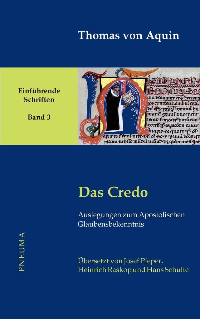 Das Credo als Buch