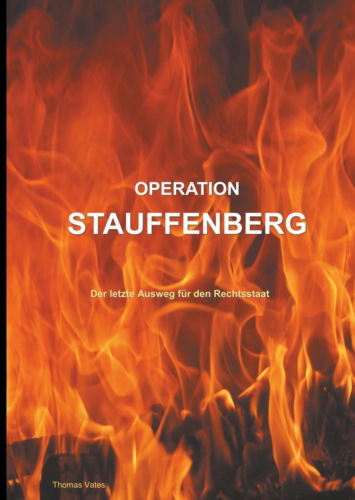 Operation Stauffenberg als Buch