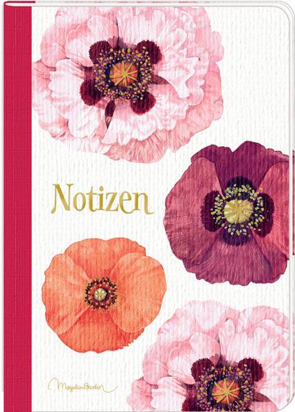 Notizhefte - Zauberhafte Blumenwelt - DIN A5. 1 Exemplar, Motiv nicht frei wählbar als Sonstiger Artikel