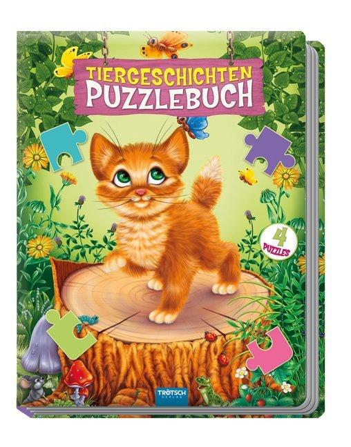 """Puzzlebuch """"Tiergeschichten"""" als Buch"""
