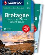 KOMPASS Wanderführer Bretagne, vom Mont-Saint-Michel bis Saint-Nazaire