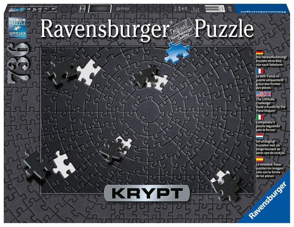 Krypt Black. Puzzle Puzzle 736 Teile als sonstige Artikel