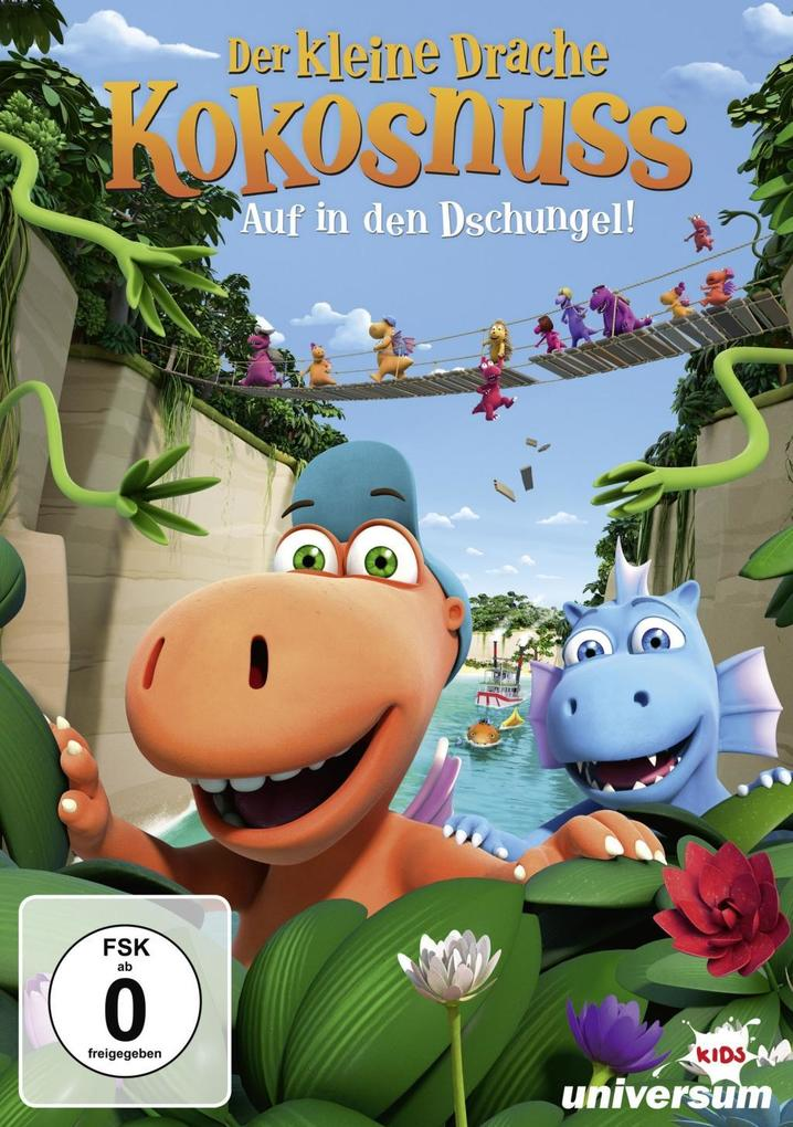 Der kleine Drache Kokosnuss - Auf in den Dschungel! als DVD