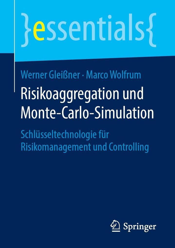 Risikoaggregation und Monte-Carlo-Simulation als eBook pdf