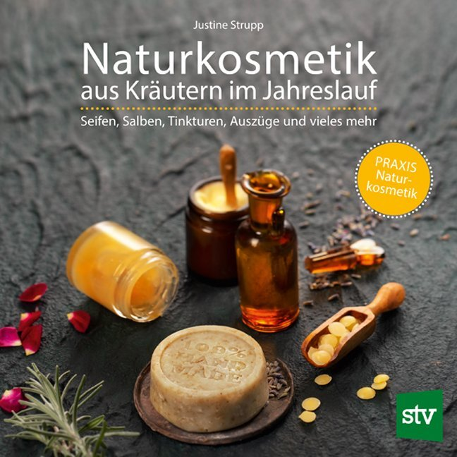 Naturkosmetik aus Kräutern im Jahreslauf als Buch