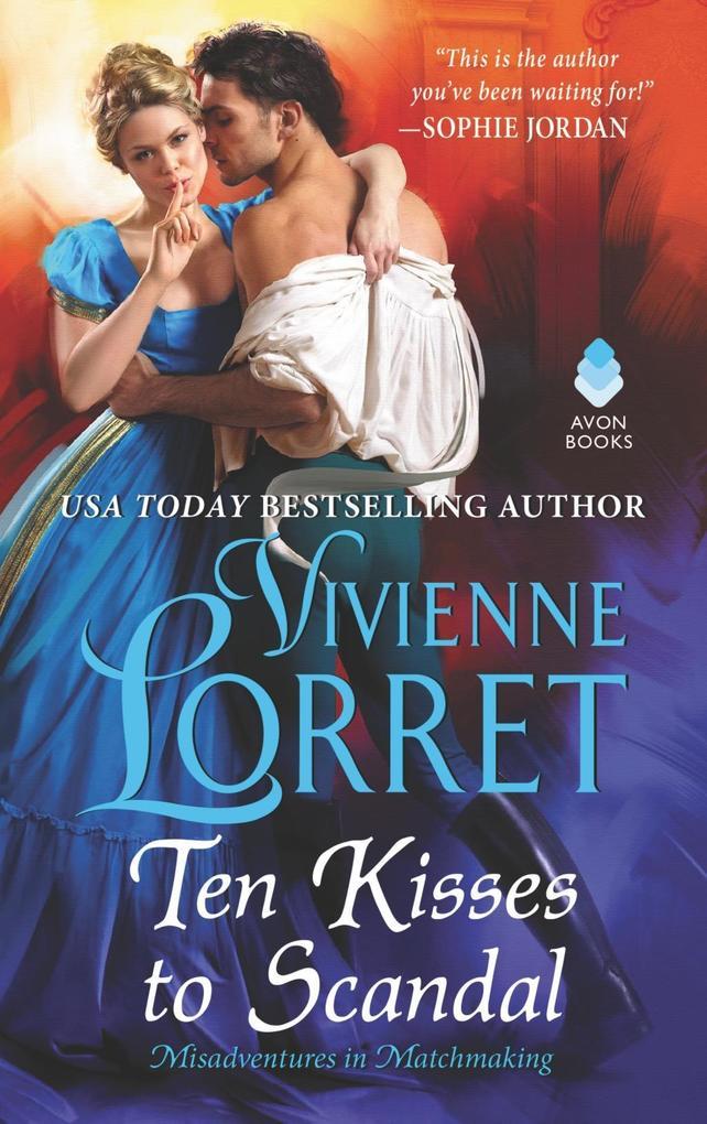 Ten Kisses to Scandal als eBook epub