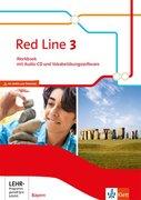 Red Line 3. Workbook mit Audio-CD und Vokabelübungssoftware Klasse 7. Ausgabe Bayern