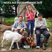 Neues aus Büttenwarder 2020 - Broschürenkalender - Wandkalender - Format 30 x 30 cm
