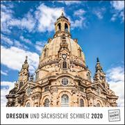 Dresden 2020 - Wandkalender - Quadratformat 24 x 24 cm