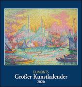 [DuMonts Großer Kunstkalender 2020 - Klassische Moderne, Impressionisten, Expressionisten - Wandkalender Format 45 x 48 cm]