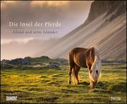 Die Insel der Pferde: Island und seine Isländer 2020 - Pferde-Kalender im Querformat