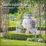 Gartenparadiese 2020 - Broschürenkalender - Wandkalender - mit herausnehmbarem Poster