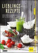 Lieblingsrezepte - Wochenkalender 2020 - Küchen-Kalender mit 53 Blatt - Format 21,0 x 29,7 cm - Spiralbindung