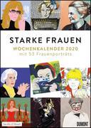 Starke Frauen Wochenkalender 2020 - Mit 53 Wochenblättern