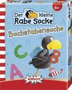 Rabe Socke - Buchstabensuche