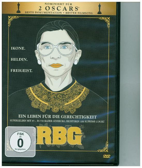 RBG - Ein Leben für die Gerechtigkeit als DVD
