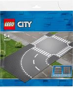 LEGO® City Supplementary - 60237 Kurve und Kreuzung