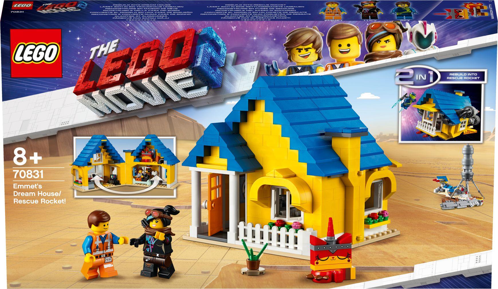 LEGO® Movie 2 - 70831 Emmets Traumhaus/Rettungsrakete! als sonstige Artikel