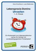 Lebenspraxis-Domino: Uhrzeiten