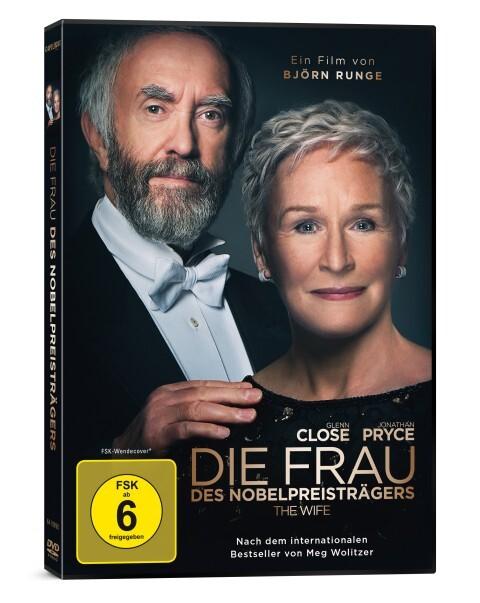 Die Frau des Nobelpreisträgers. DVD als DVD