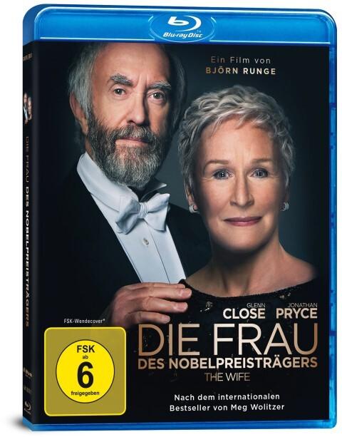 Die Frau des Nobelpreisträgers. Blu-Ray als DVD