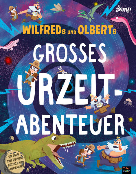Wilfreds und Olberts großes Urzeitabenteuer als Buch