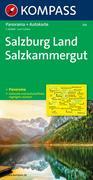 Salzburg Land - Salzkammergut 1:125 000