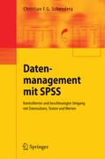 Datenmanagement mit SPSS