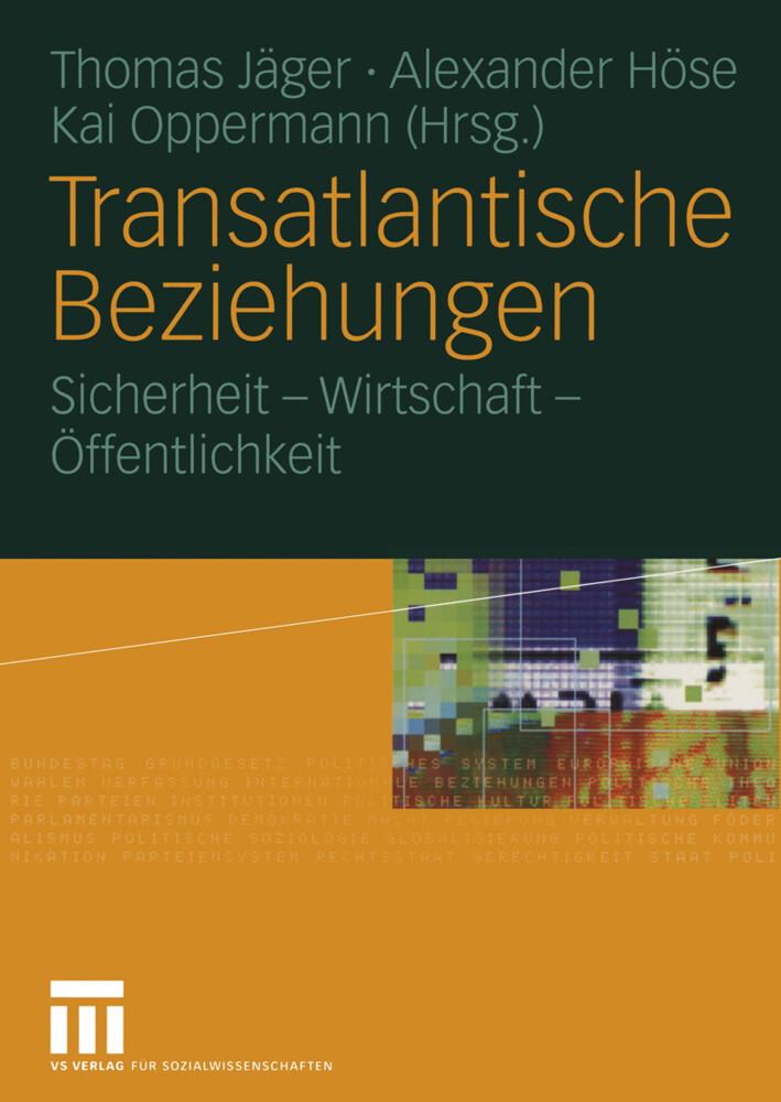Transatlantische Beziehungen als Buch von