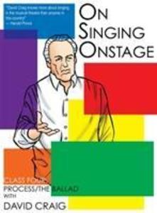 On Singing Onstage, Acting Series als DVD
