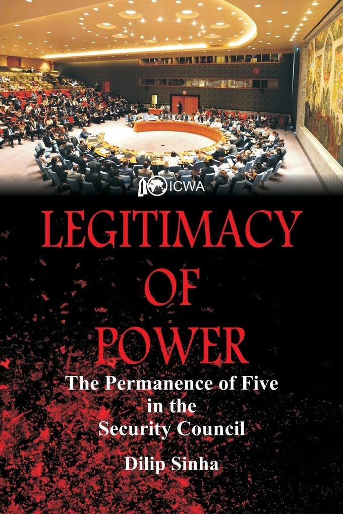 Legitimacy of Power als Taschenbuch